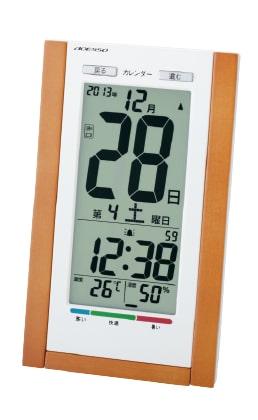 日めぐり電波時計(不快指数) TSB-639