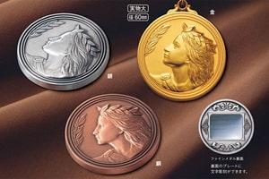 メダル・花徽章製作販売(ファインメダル)